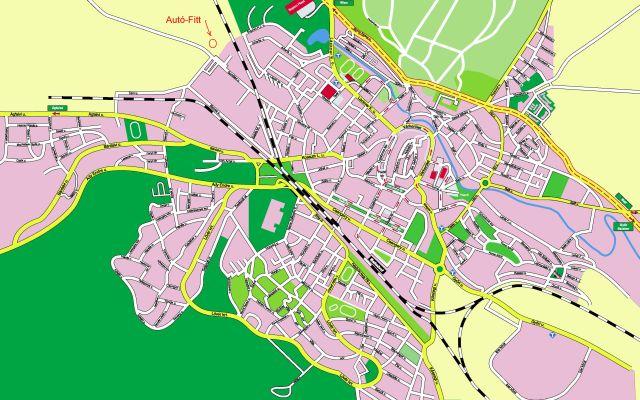 térkép sopron autofitt térkép sopron